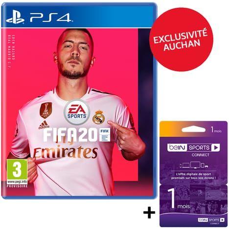 [Pré-commande] FIFA 20 sur PS4 + abonnement d'un mois à beIN Sports Connect offert