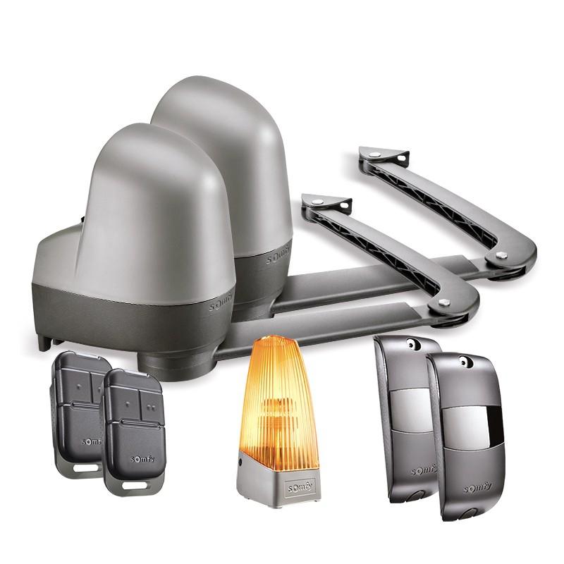 Kit de motorisation à bras pour portail battant jusqu'à 4 m Somfy SGA 6000 - Boutique.Somfy.fr