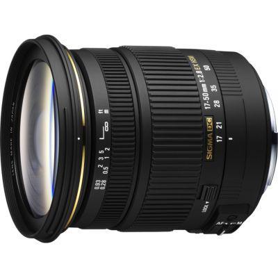 Objectif SIGMA 17-50mm F2,8 EX DC HSM  pour Appareil photo Sony (APSC)