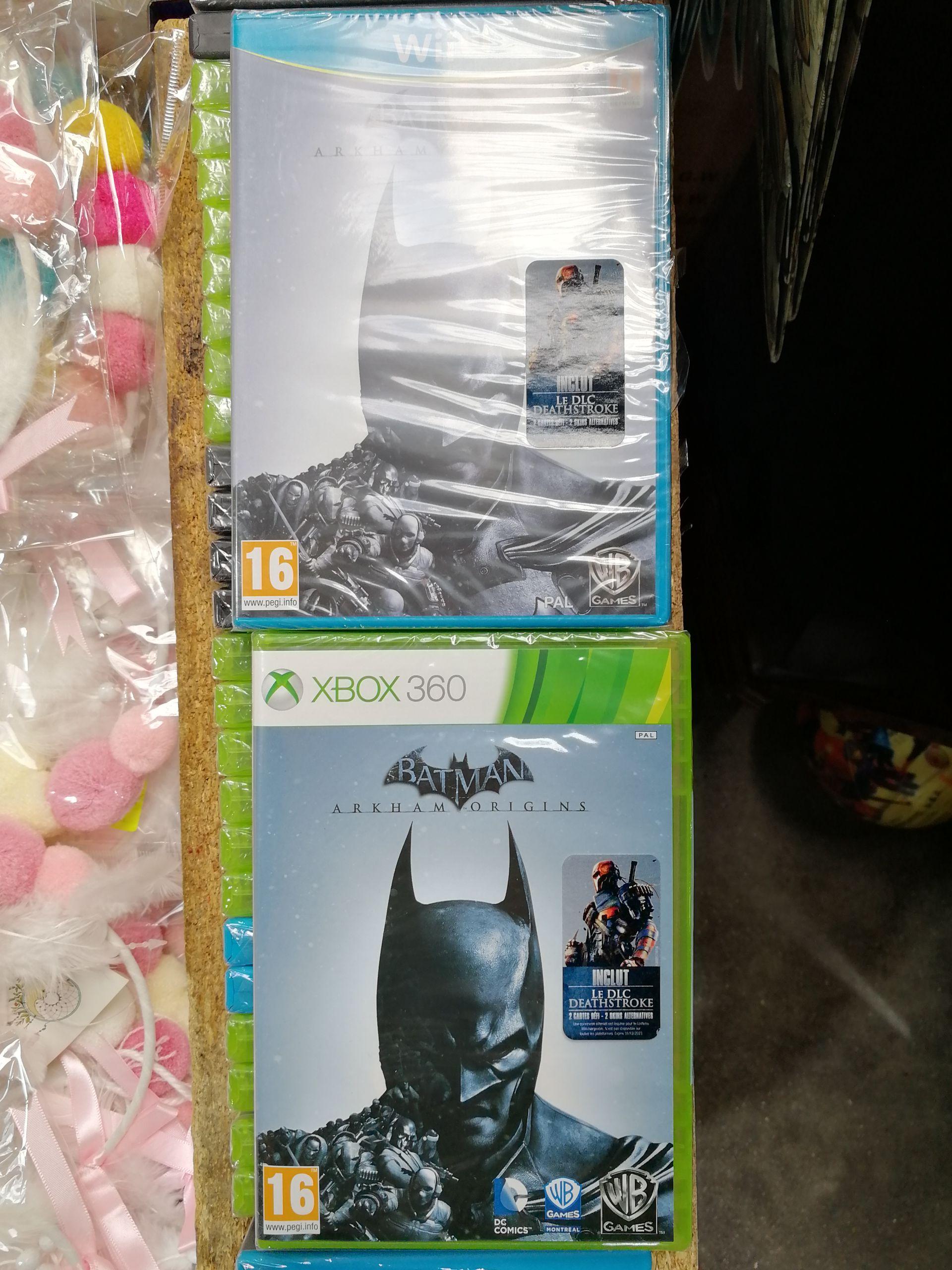 Batman Arkham Origins sur Xbox 360 ou Wii U - Capinghem (59)