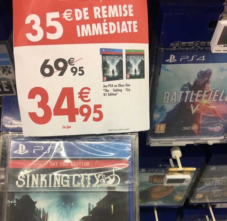 The Sinking City  sur PS4 ou Xbox One - Thiais (94)