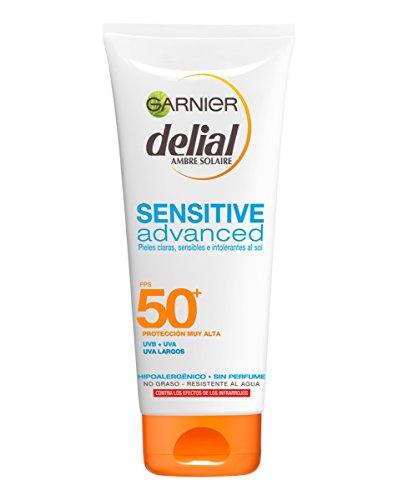 [Panier Plus] Crème Solaire Garnier Delial Sensitive Advanced - SPF50+