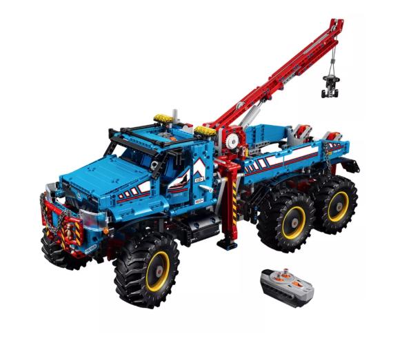 Jeu de construction Lego Technic 42070 - Dépanneuse tout-terrain 6x6  (via 99.99€ sur la carte de fidélité - Frontaliers Luxembourg)