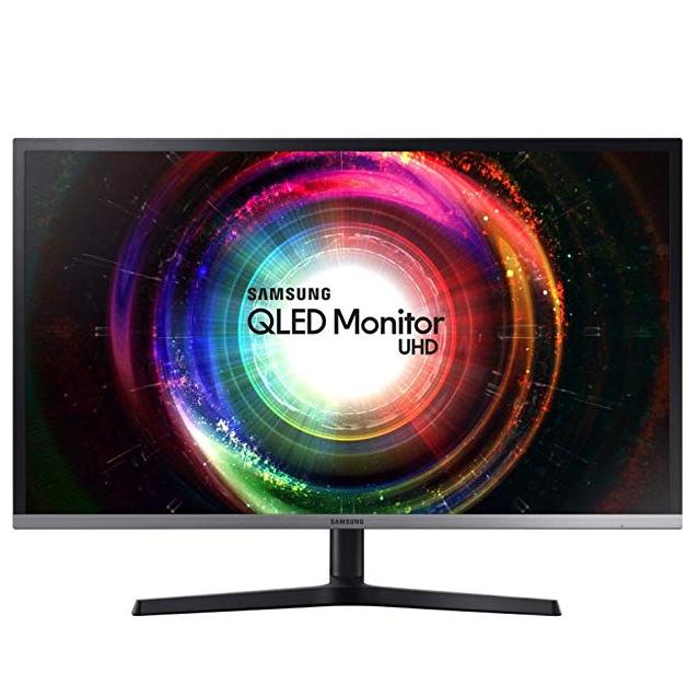"""Écran PC 32""""  Samsung U32H850 Quantum Dot (HDR) - 4K UHD, 3840x2160, QLED VA 4 ms"""