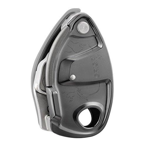 Assureur d'escalade Petzl GriGri+ Gris avec freinage assisté pour cordes de 8,5 à 11mm