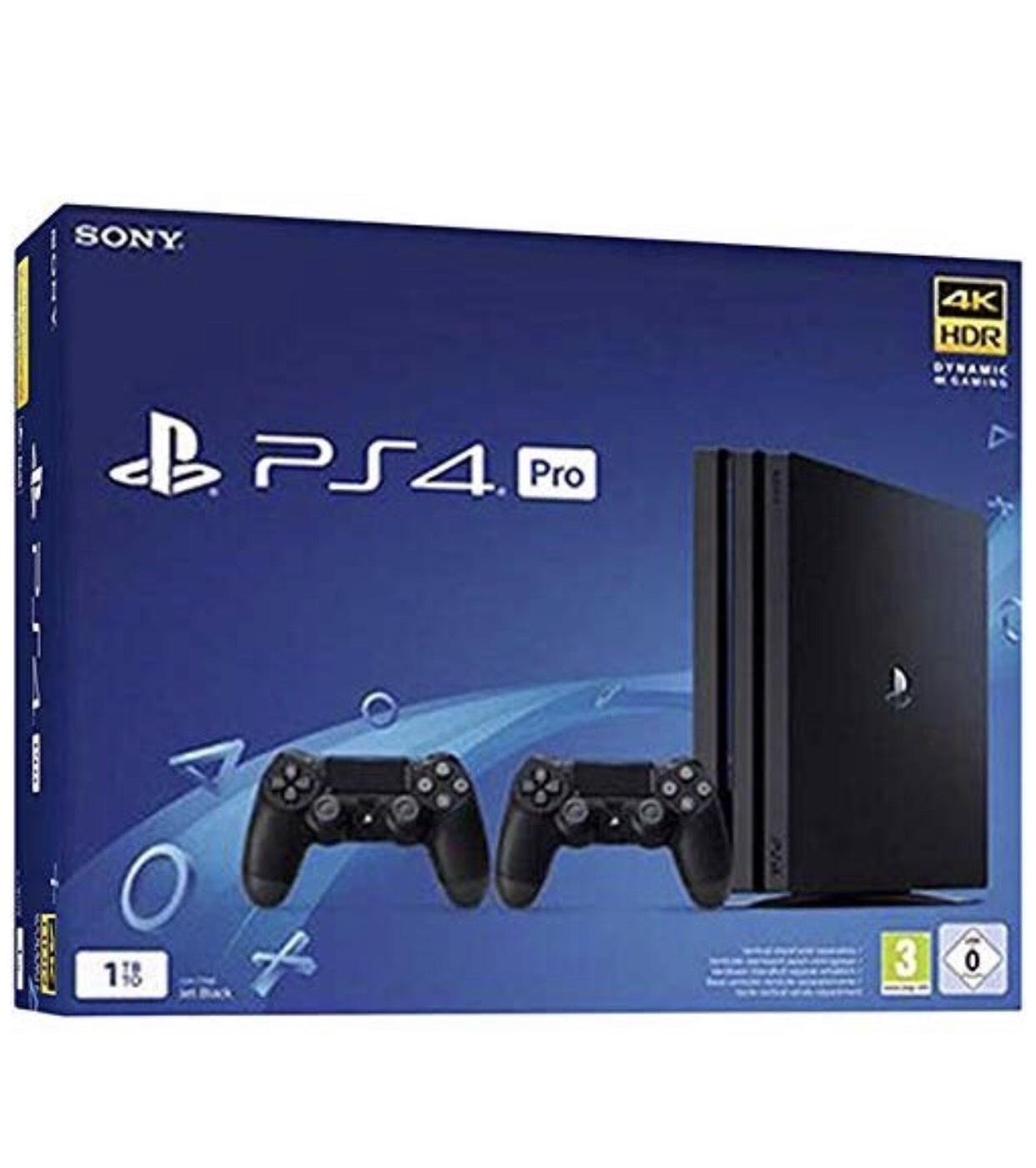 Console Sony PS4 Pro (1 To) + 2ème Manette sans-fil DualShock 4 V2