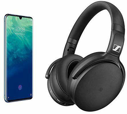 "Pack Smartphone 6,47"" ZTE Axon 10 Pro (SnapDragon 855, RAM 6 Go, ROM 128 Go) + Casque Audio Sans Fil Sennheiser HD 4.50 Special Edition"