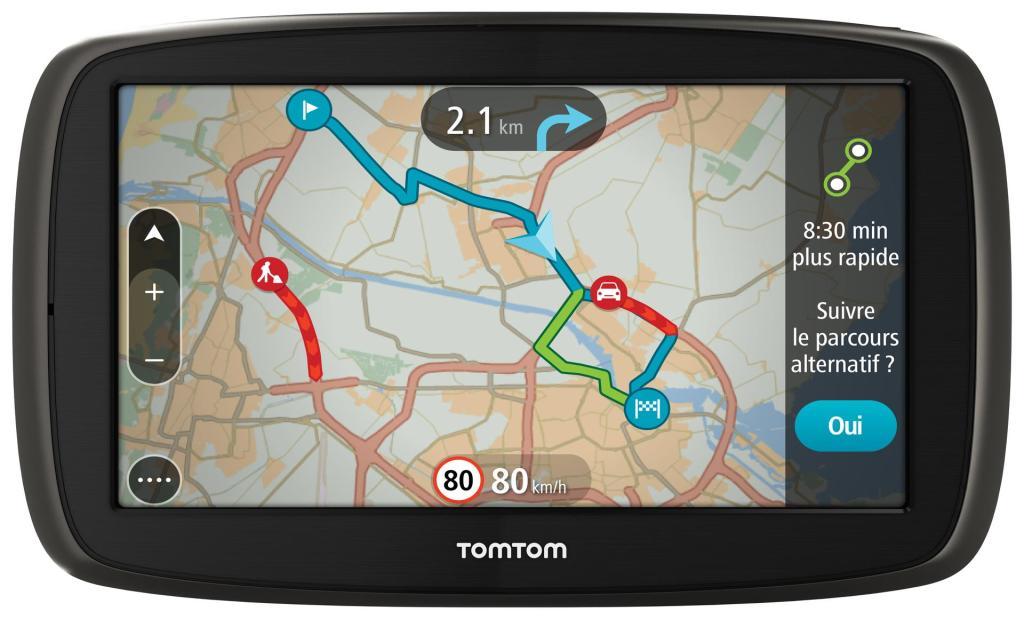 """GPS 5"""" Tomtom Go 50 (45 pays, Tomtom Traffic à vie) + Housse offerte (Avec ODR de 20€)"""