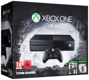 Pack Console Xbox One 1 To + Rise Of The Tomb Raider