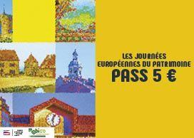 Pass Journée du Patrimoine (Bus, Tram, Car Régionaux & TER) - Bourgogne-Franche-Comté