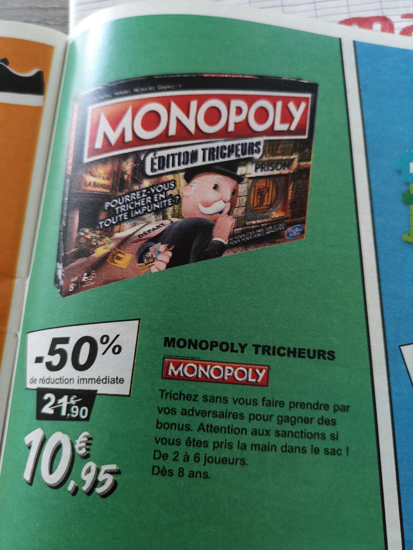 Jeu de société Monopoly Edition Tricheurs