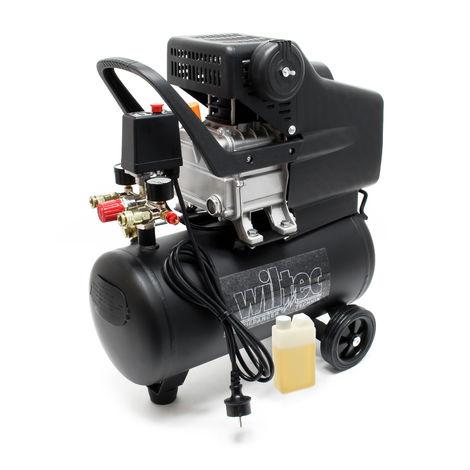 Compresseur d'air comprimé ME13439945 - 24 litres, 1,5 kW