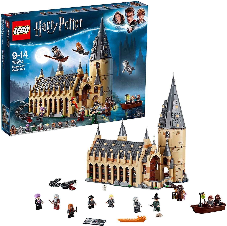 Jeu de construction Lego Harry Potter - Grande salle de Poudlard (75954)