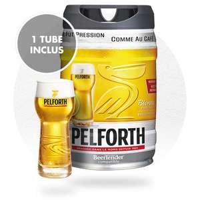 Fût de bière Pelforth Beertender - 5 L
