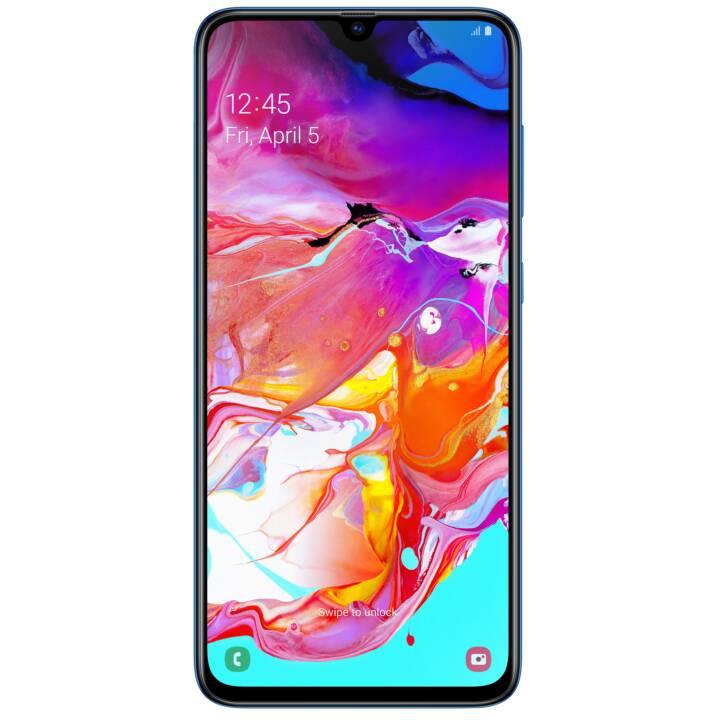 "Smartphone 6.7"" Samsung Galaxy A70 - full HD+, SnapDragon 675, 6 Go de RAM, 128 Go (frontaliers Suisse)"