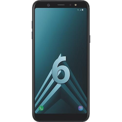 "Smartphone 6"" Samsung Galaxy A6 Plus (full HD+, SnapDragon 450, 3 Go de RAM, 32 Go, noir ou or) + coque + protection d'écran en verre trempé"