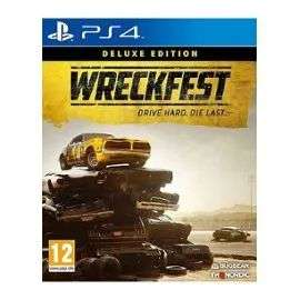 Wreckfest : Deluxe Edition sur PS4