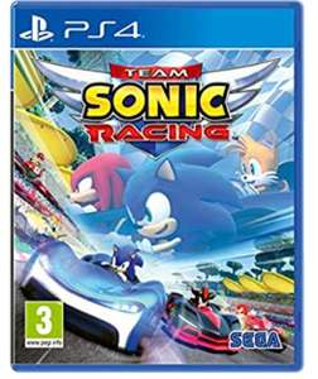 Team Sonic Racing sur PS4
