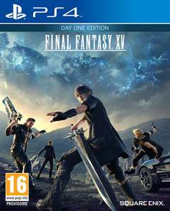 Final Fantasy XV Day One Edition PS4 (via retrait magasin)