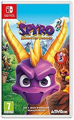 Jeu Spyro Reignited Trilogy sur Nintendo Switch