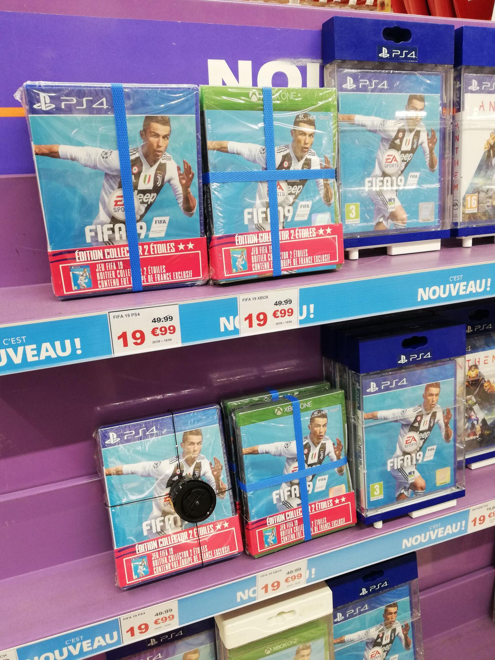 FIFA 2019 sur PS4 ou Xbox One - Val d'Europe (77)