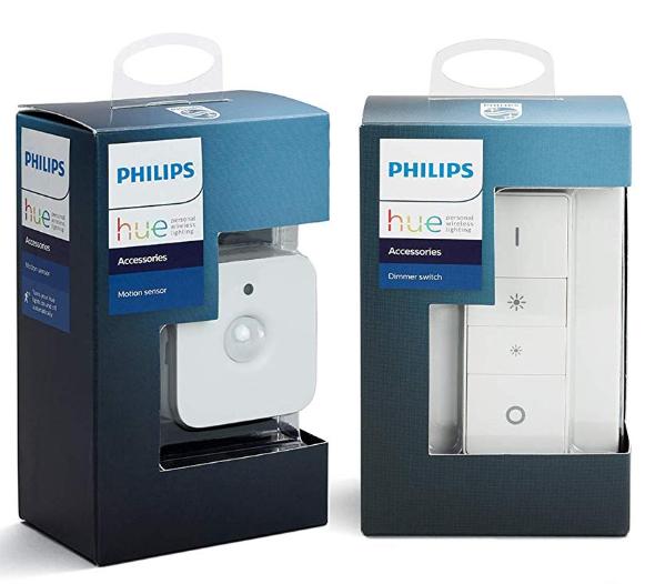 Détecteur de Mouvement Philips Hue Motion Sensor + 1 Télécommande