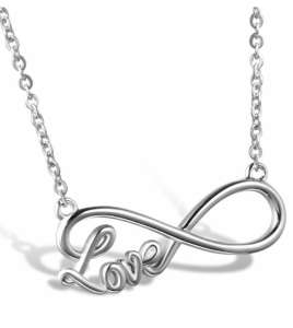 Collier Femme Inifinity Love - Acier Inoxydable