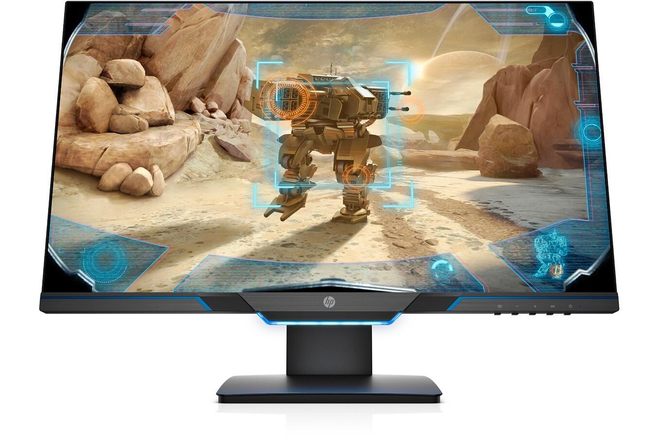 """Ecran PC 24.5"""" HP 25mx - Full HD, 144 Hz, dalle TN, 1 ms, FreeSync, Pied réglable en hauteur (via ODR 50€)"""
