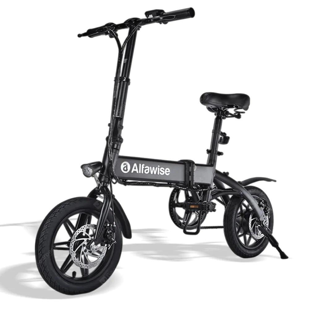 Vélo électrique pliable Alfawise X1 - 7.8 Ah, 25 km/h max. (entrepôt Europe)