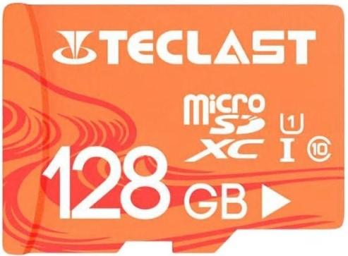 Carte mémoire SDXC Teclast Classe 10, U1 - 128 Go
