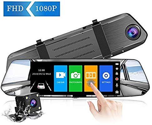 Rétroviseur Dashcam Chortau avec écran tactile (vendeur tiers)
