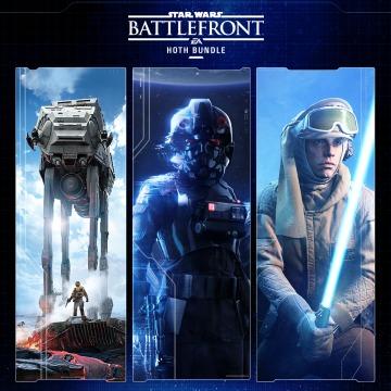 Star Wars Battlefront Hoth Bundle -  Battlefront Ultimate Edition + SW Battlefront 2 + DLC Hoth sur PS4 (Dématérialisé - US et Ca)