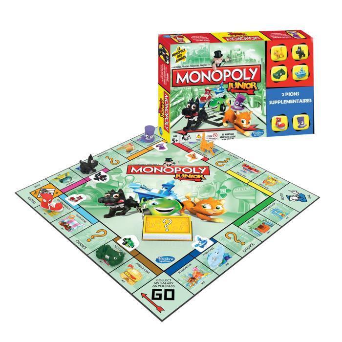 -20% sur tous les jeux Hasbro - Ex: Super Monopoly Junior