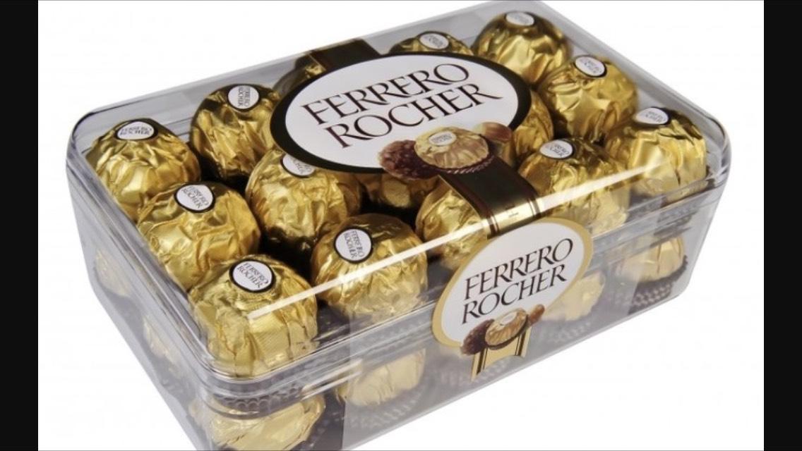 Optimisation sur les boîtes de chocolats de Noël (3 pour le prix d'une et 1/2) - Ex: 3 boîtes de Ferrero Rochers (1 boîte gratuite + 3,40 € sur la carte)