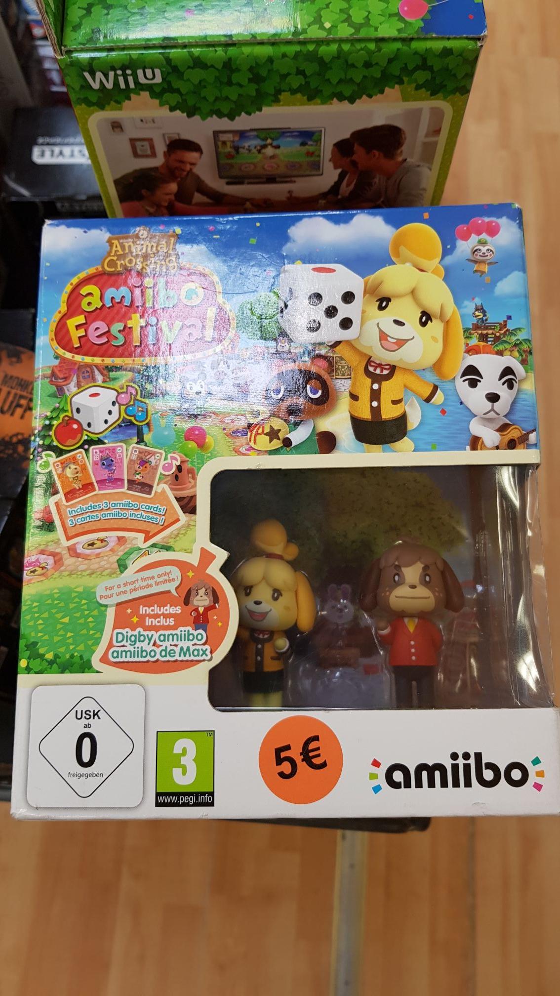 Pack Amiibo Festival : Animal crossing sur Nintendo Wii U + 2 Amiibo - PicWicToys Orvault (44)