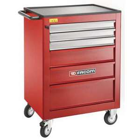 Servante d'atelier Facom Roll XL 6 tiroirs - Rouge