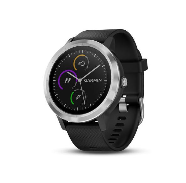 Montre connectée Garmin Vivoactive 3 - GPS, Noir/Argent
