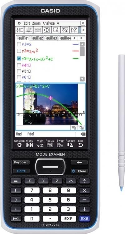 Calculatrice graphique Casio fx-CP400+E mode examen (123consommables.com)