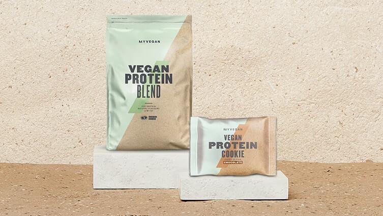 Sachet 1KG - Mélange de protéines végétales Vegan - Saveur Fraise