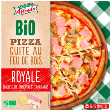 Pizza Bio Alfredo - Royale ou au chèvre