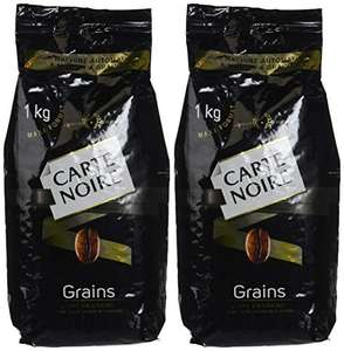 Sélection de cafés en promotion - Ex : lot de 2 sachets de café en grains Carte Noire Classique - 2x1 kg