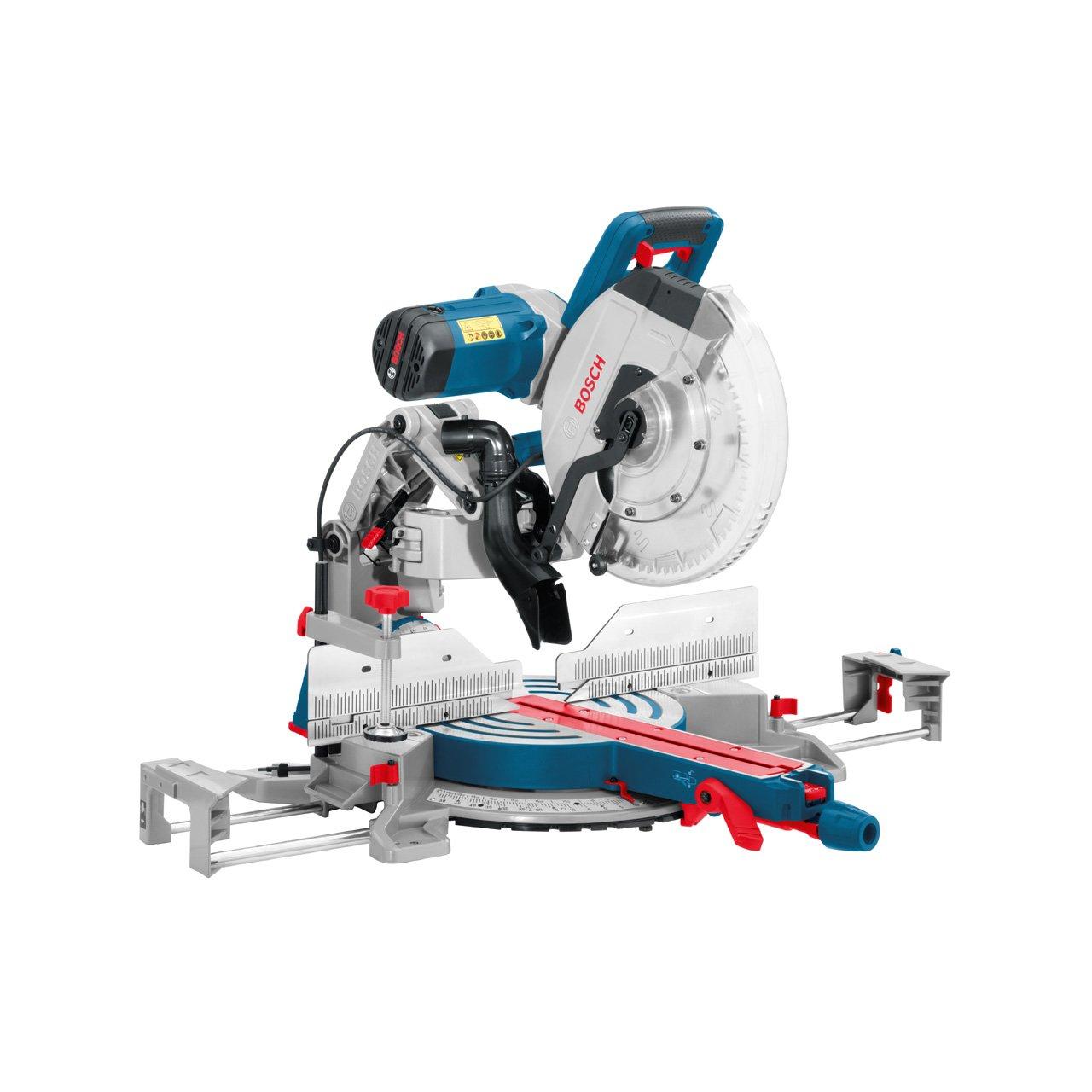 Scie à onglet radiale Bosch Professional 0601B23600 GCM 12 GDL 2000 W - Ø 305 mm+ extensions laterales et visee laser