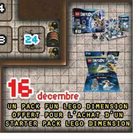 pack de démarrage Lego Dimension + pack fun