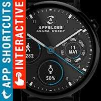 Application Watch Face - Ksana Sweep for Android Wear OS sur Android