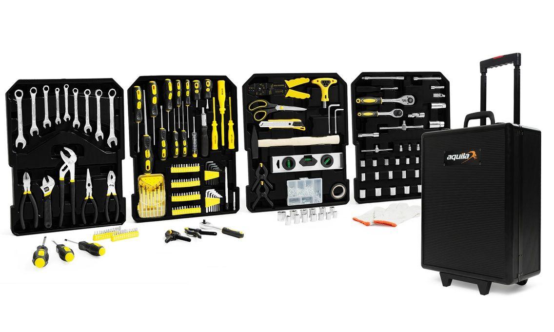 Valise à outils à roulette Aquila - 999 pièces