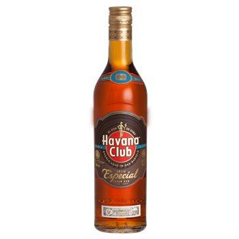 Lot de 2 bouteilles de rhum ambré Havana Club Ron Anejo Especial - 2x70 cl