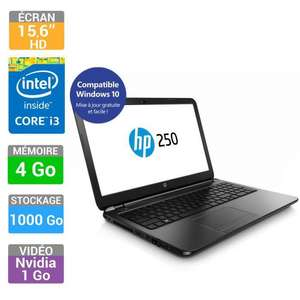 "PC Portable 15"" HP 250 G3 - Intel i3-4005U, 4 Go de Ram, 1 To, GeForce 820M"