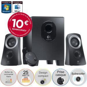 Logitech Speaker System Z313 (Avec ODR de 10€)
