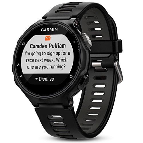 Montre cardio Garmin Forerunner 735XT - noir à 200.38€ ou bleu / vert d'eau à 203.21€