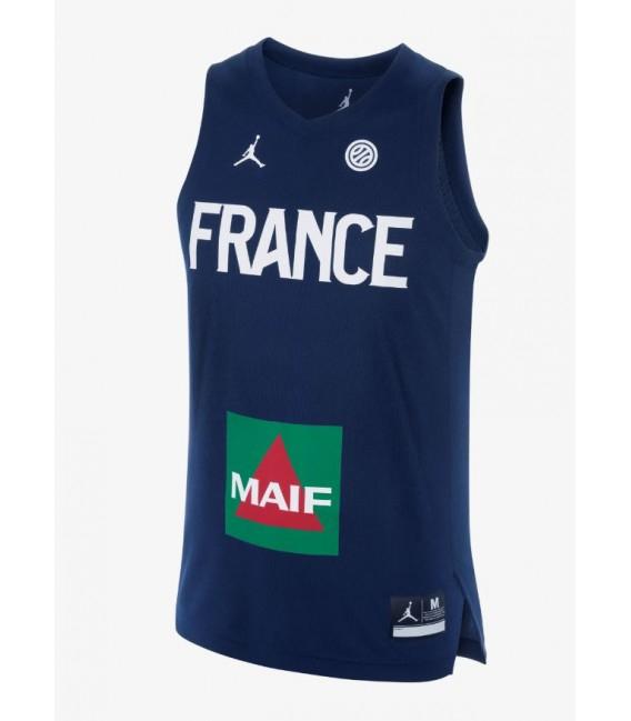 Maillot de basket-ball Jordan Équipe de France 18 - tailles M ou XXL